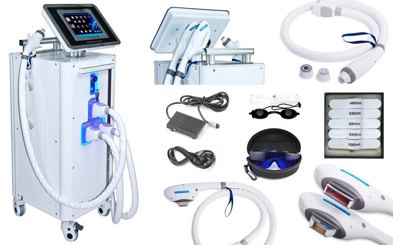 Hårfjerner og epileringsmaskine - Model IP 300